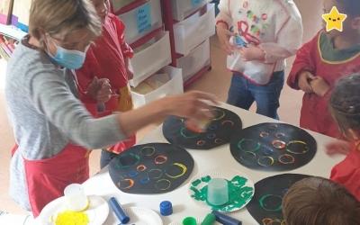 Kandinsky s'invite en maternelle...
